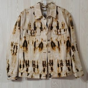 Burberry jean jacket new with tags  US 10